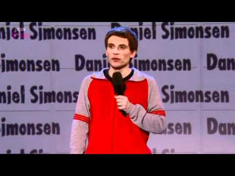 Daniel Simonsen on Russell Howard's Good News
