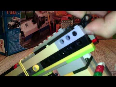 Пистолет glock 17 из лего