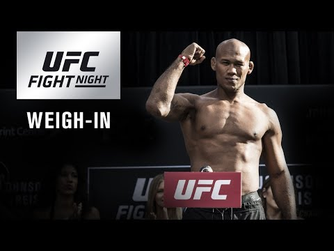UFC Fight Night Charlotte: Official Weigh-in