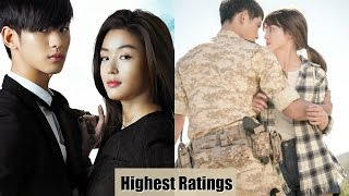 TOP 20 Most Successful & Highest Rated Korean Drama (2000-2016)