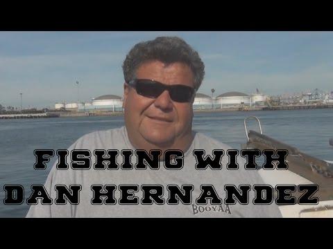 Fishing with Dan Hernandez near Catalina Island