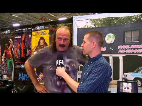 WrestleCon: Jake Roberts Wants To Enter 2014 Royal Rumble
