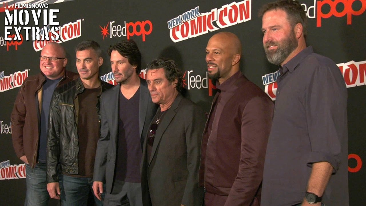 John Wick: Chapter 2 | New York Comic Con Interviews with Cast and Director