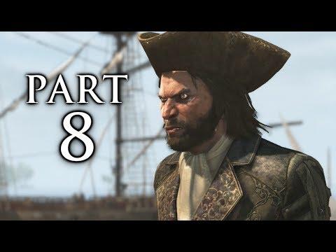 Assassin's Creed 4 Black Flag Gameplay Walkthrough Part 8 - Ship Hijack (AC4)