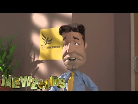 Newzoids - Nick Clegg & Vince Cable think about the future. Episode 4