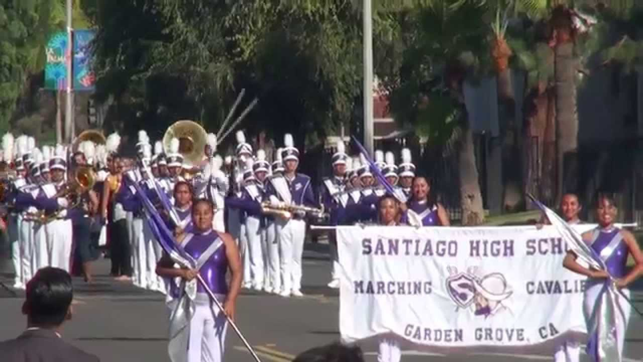Santiago Hs The Billboard March 2014 La Palma Band Review Youtube