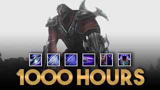 What 1000 Hours of Zed Experience Looks Like - League of Legends