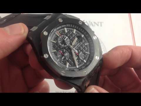 Audemars Piguet Royal Oak Offshore Forged Carbon Luxury Watch Review