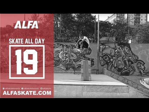 Alfa Skateboard - Skate All Day 19