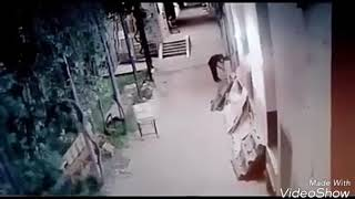 Ghost attack in mortuary hospital CCTV footage