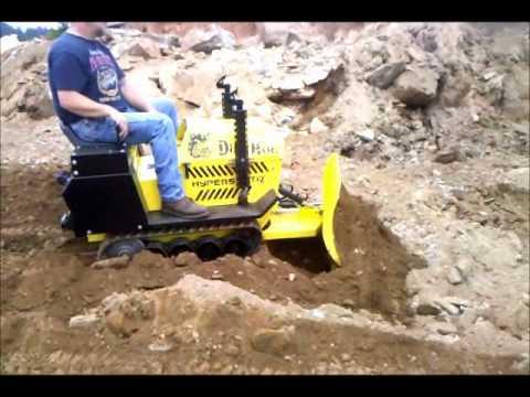 Dirthog Mini Dozer Test 2 Youtube