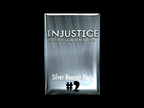 Injustice Gods Among Us [iOS] - Silver Booster Pack Opening #2