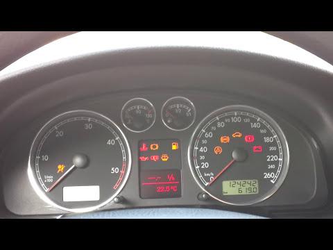 Kasowanie komunikatu inspekcji serwisowej VW Passat 3BG (B5 FL)