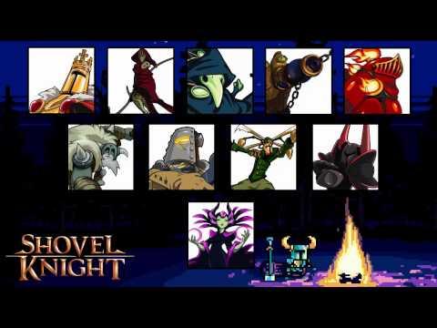 Shovel Knight - All Boss Themes