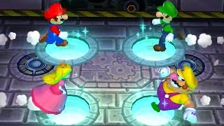 Mario Party 9 - Minigames (2 Players) - Mario vs Luigi vs Peach vs Wario
