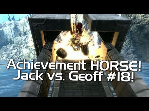 Halo: Reach - Achievement HORSE #18 (Angry Geoff vs. Happy Jack)