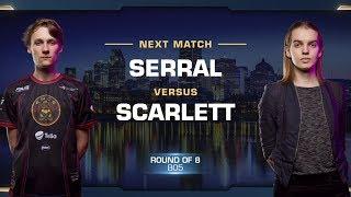 Serral vs Scarlett ZvZ - Quarterfinals - WCS Montreal 2018 - StarCraft II