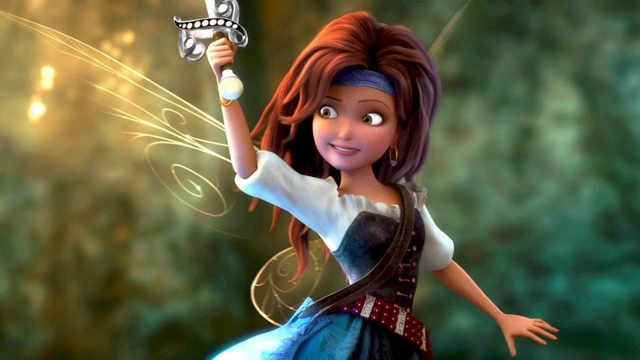Clochette et la f e pirate bande annonce vf officielle youtube - Fee clochette et les pirates ...