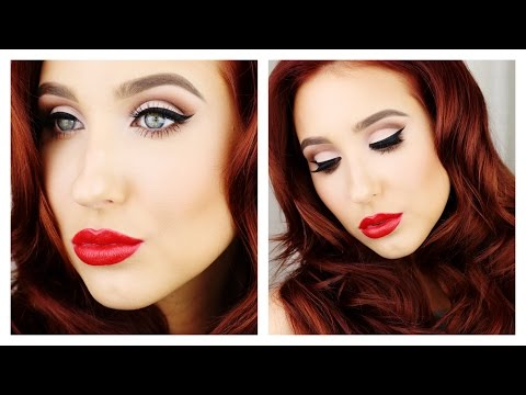 Old Hollywood Glam - Makeup & Hair Tutorial
