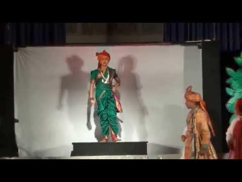 Rajvi Banker As Jhansi Ki Rani Laxmibai- A Stage Performance video