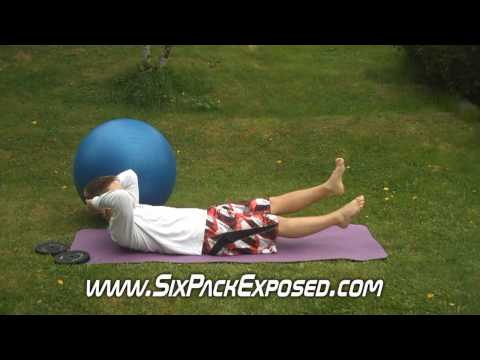 Lower Abs Exercises - Abdominal Flutter Kicks For Six Pack