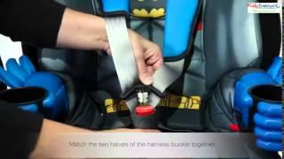 KidsEmbrace Group 1,2,3 Car Seat Fitting Video