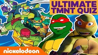 Ultimate TMNT Fan Quiz 🐢! | #KnowYourNick
