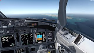 P3Dv4 Around the World #007 ✈️ Mandalay (VYMD) - Port Blair (VOPB) | Full | Let's fly silent [4k]