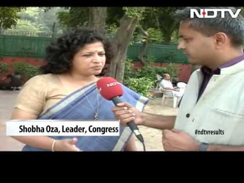 'Modi Tsunami, not wave' says BJP after big gains in Maharashtra, Haryana