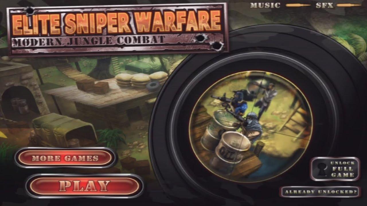 Elite Sniper Warfare Jungle
