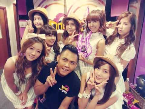120929 APink interview at Malaysia radio OneFM 1/2