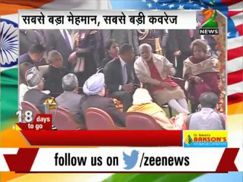 Obama, PM Modi attend Prez Pranab's 'At Home' reception