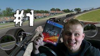 Прохождение  Project Cars PS4 Выпуск 1 - Из грязи в князи