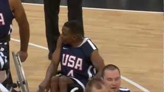 Wheelchair Basketball - Men's - ITA versus USA - London 2012 Paralympic Games