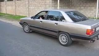 Audi 100 2.3 Exhaust sound