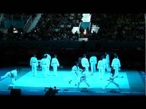 WTF시범단 Taekwondo Demonstration London Olympic final game.(WorldTaekwondoFederationDemo)1