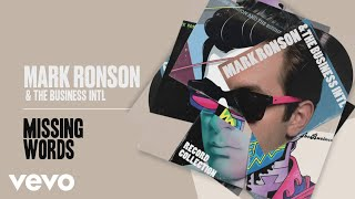 Mark Ronson, The Business Intl. - Missing Words (Official Audio)