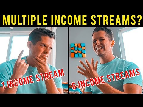 How I Built 6 Streams of Income (Multiple Ways I Make Money ONLINE Every Month)