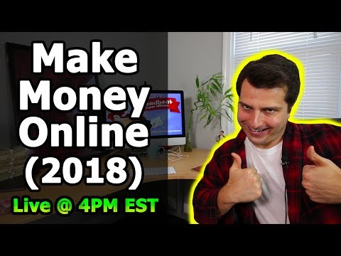 How to Make Money Online In 2018 w/ Social Media Marketing ($20K/m Per Month)