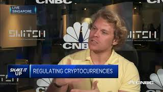 19.9.2017 Julian Hosp on CNBC about ICO risks, China and TenX