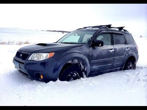 General At Tires >> 2010 Forester XT in Deep Snow (Grabber AT2) - Dash Cam ...