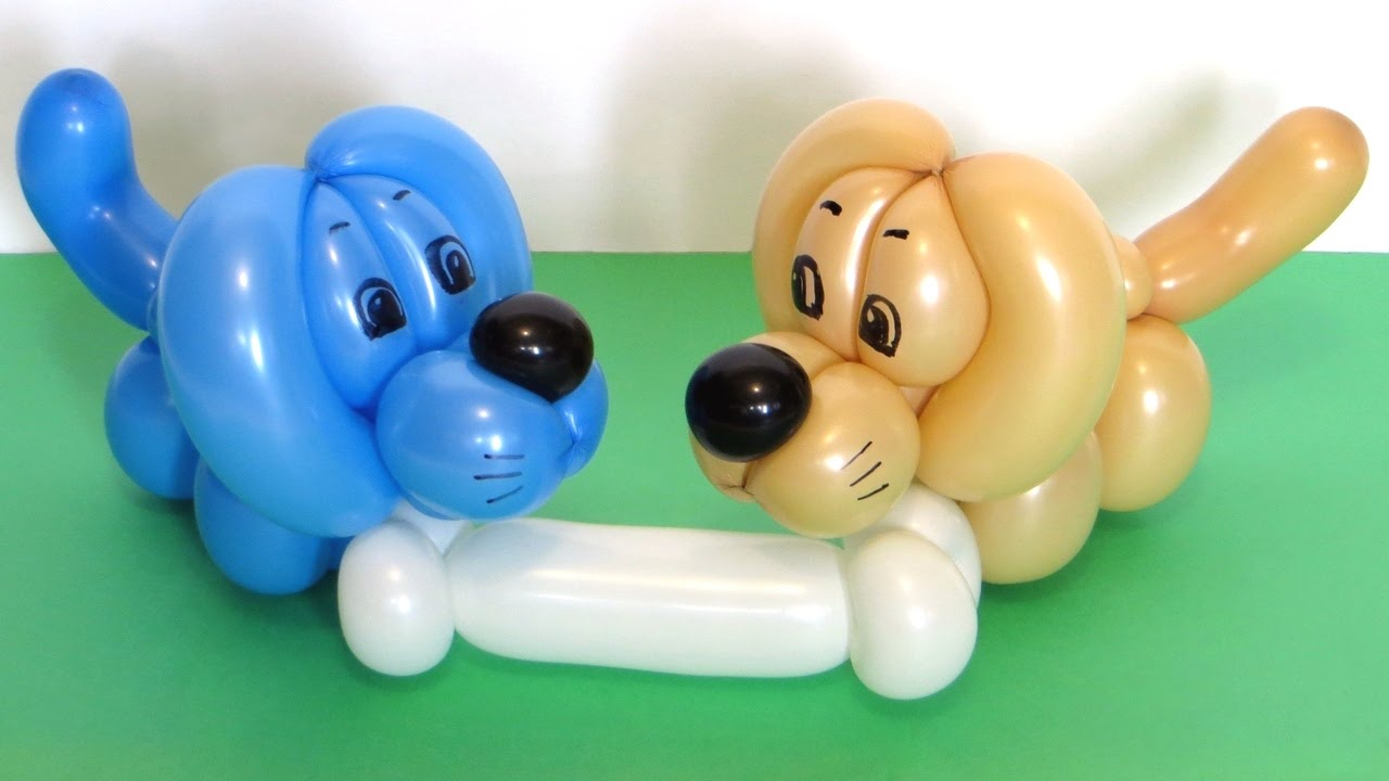 Собачки из шаров своими руками