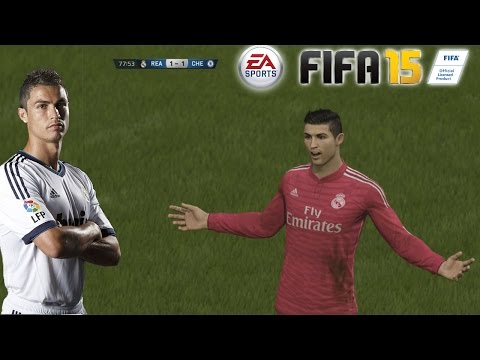 Fifa 15 Cristiano Ronaldo Skills And Goals (dribles E Gols) video