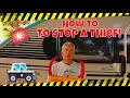 How to keep your Teardrop Camper from being stolen