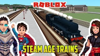 ROBLOX STEAM AGE! Fun Toy Trains for Kids! Thomas and Friends!