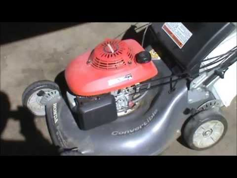 Honda Harmony HRT Transmission Repair Part 1