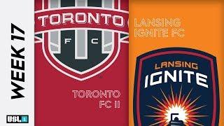 Toronto FC II vs. Lansing Ignite FC July 19th, 2019