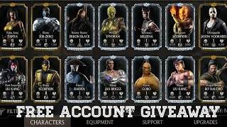 Free Account Giveaway Mkx Mobile 1.18