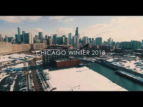 Chicago Winter 2018 Aerial Film