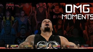 WWE 2K15 -  OMG Moments Part 1
